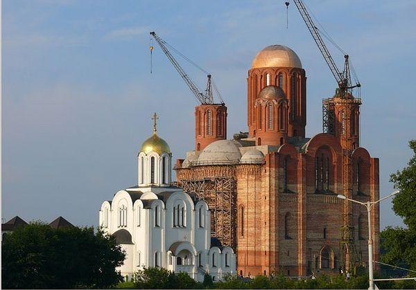 Храм-памятник в честь Всех Святых Богоявленский приход