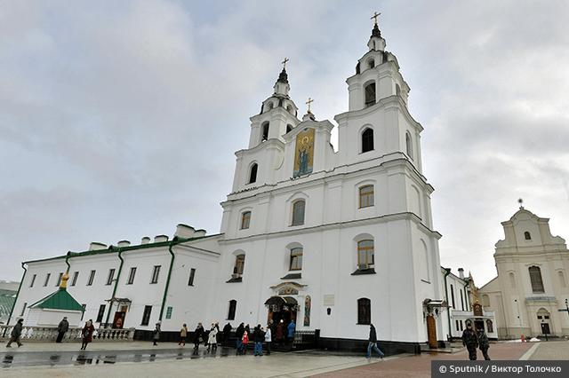 Святой Духовный кафедральный собор в Минске