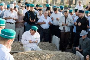 мусульманские похороны в Минске