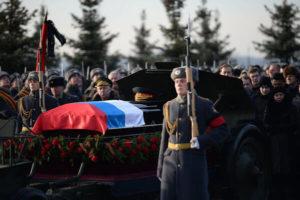 Похороны военных в Минске