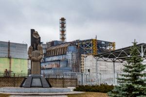 Припять, Чернобыльская зона отчуждения. Чернобыльская АЭС.